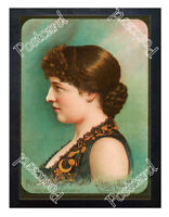Historic Lillie Langtry with Pears brand soap Advertising Postcard