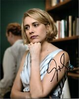 "~ GRETA GERWIG Authentic Hand-Signed ""LADY BIRD Writer"" 8x10 Photo C ~"