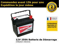 Hankook U1RMF-S Batterie de Démarrage Tondeuse 12V 250CCA 895 -2 Ans de Garantie