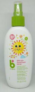 Babyganics Sunscreen Spray SPF 50+ UVA + UVB Protection 6 oz