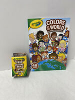 Crayola Colors of the World 32 Pack Crayons And Coloring And Activity Book