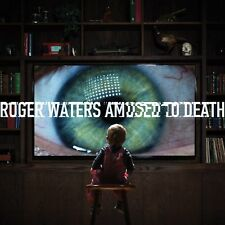 ROGER WATERS AMUSED TO DEATH CD AND BLU-RAY NEW