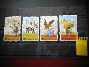SAMBIA  (1979)  205-08 postfrisch (Lot 1138)