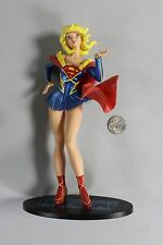 "RARE AME-COMI Heroine Series Supergirl PVC Statue Figure 9"" DC HTF HOT V2"