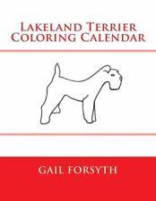 Lakeland Terrier Coloring Calendar
