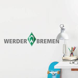 Aufkleber Wandtattoo SV Werder Bremen Wandsticker Sport Bundesliga Deko Fußball
