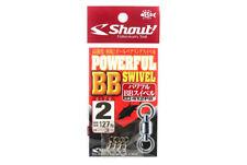 Shout 412-PB Powerful BB Swivel for Jigging Size 2 (1924)