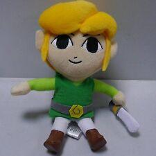 New Link Legend of Zelda Phantom Hourglass Plush Doll 7 Inches