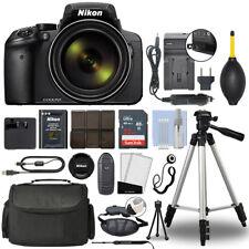Nikon COOLPIX P900 Digital Camera 83x Optical Zoom Wi-Fi + 32GB Accessory Bundle
