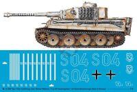 Peddinghaus 1/16 Tiger I Tank Markings Michael Wittmann LSSAH Russia 1943 3400