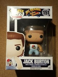 Funko Pop! Big Trouble In Little China JACK BURTON NO.151
