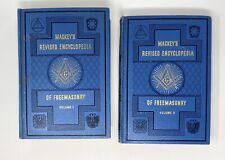 New listing Vintage 1946 Mackey's Revised Encyclopedia Of Freemasonry Vols 1, 3 Mint