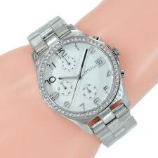 Marc Jacobs Damen Uhr Chronograph MBM3072 Silber Edelstahl Armband