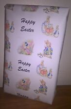 Size A1/A2/A3 -PETER RABBIT 'EASTER' Wrapping Paper *Exclusive New Design*