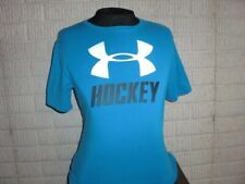 UNDER ARMOUR HOCKEY blue short sleeve athletic shirt youth XL