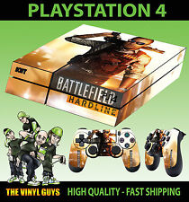 PS4 Skin Champ de Bataille Hardline Moderne Guerre Fusil Chasse Autocollant +
