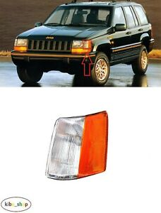 FOR JEEP GRAND CHEROKEE ZJ 1993 - 1996 1X FRONT PARKING LAMP LIGHT LEFT N/S