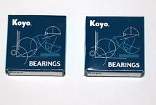 60/22 2RS Sealed Ball Bearing Genuine KOYO 22x44x12mm  - Twin Pack 2 bearings