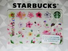 Starbucks Gift Card Japan SAKURA ONLINE LIMITED 2017 Pin Intact Shipping Free