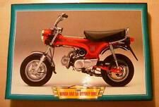 Honda Dax Mono Moto bicicleta clásica de 50 Mini Bicicleta Cuadro 1999 impresión década de 1990