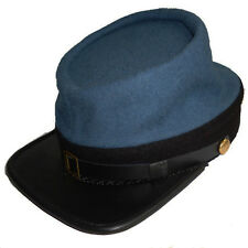 American Civil War Blue Confederate Infantry 1862 Style Kepi Hat MEDIUM 56/57cms