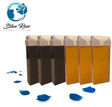 Miele 3x 3x CHOCO 100g HOT Cera a Rullo odore di grandi dimensioni Cartuccia Ceretta Depilazione
