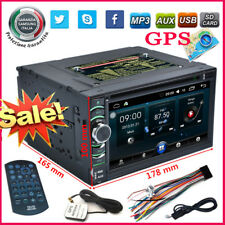 "6.5"" 2 DIN DVD GPS Stereo AUX WIFI BT RDS Autoradio MP3 TV HD Player Navigatore"