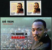 Vietnam 2018 Martin Luther King Politik 3759 A B & Markenheft Postfrisch MNH