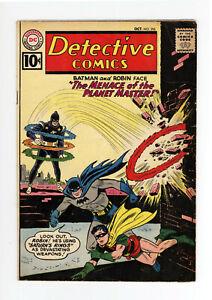 DETECTIVE COMICS #296 - BATMAN, MARTIAN MANHUNTER, AQUAMAN 1961