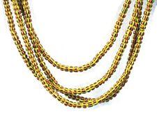 Art Africain - Ancien Collier - Petites Perles type Chevron - Old Jewel ++++++++