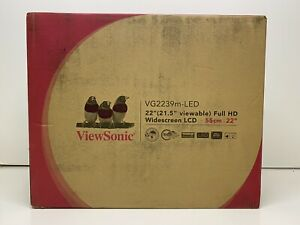 ViewSonic VG2239m-LED LCD Monitor