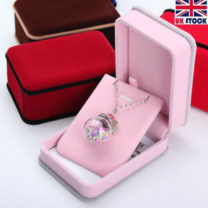 UK Luxury Jewellery Gift Box Ring Necklace Bracelet Earrings Watch Small Present