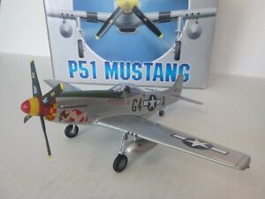 Armour, P-51D Mustang, Capt. C.E. Weaver, 362nd FS, USAAF, 1:48, Diecast, Used