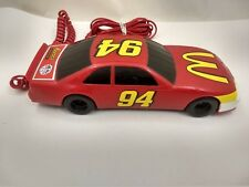 Vintage 1997 McDonalds Corded Touch Tone Telephone NASCAR Bill Elliott #94