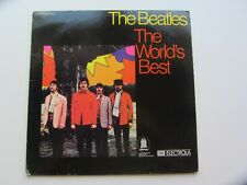 THE BEATLES   GERMAN BOOK CLUB LP    THE WORLD'S BEST    THE BEATLES