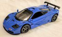 Kinsmart - 1:34 Scale Model 1995 McLaren F1 GTR Blue (BBKT5411DBL)