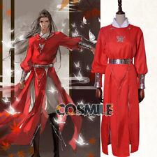 Tian Guan Ci Fu 天官赐福 Hua Cheng 花城 Cosplay Costume Abbigliamento Accessori Sa