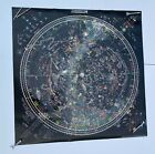 Vintage MAP OF THE UNIVERSE Celestial Arts GLOW IN THE DARK Poster