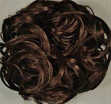 KATIE 7 inch Pony Fastener Hair Scrunchie - 6 Dark Chestnut Brown