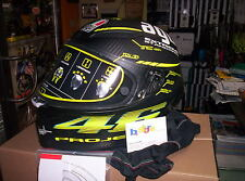 CASCO INTEGRALE CARBONIO AGV PISTA GP TOP PROJECT 46 2.0 TAGLIA S