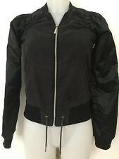 veste noire courte et légère Adidas taille 34