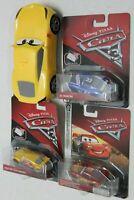 Disney Pixar Cars  McQueen-Ed Truncan & Eze Cruz Ramirez.Cruz RamirezLot of 4.