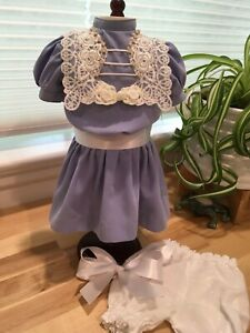 Made To Fit Pleasant Company American Girl: Happy Birthday, Samantha! Book Dress