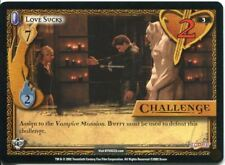 Buffy CCG TCG Angels Curse Unlimited Edition Card #3 Love Sucks