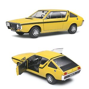 1/18 Solido Renault R17 MK1 Yellow Dakar 1973 New IN Box Free Shipping Home