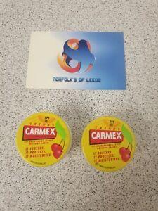 Carmex Lip Balm Cherry Pot 7.5 gm X 2 (M)