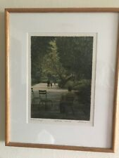 Harold Altman hand signed, artist proof lithograph. September 1982 II