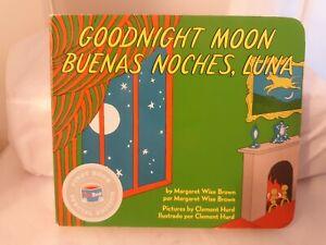 Vtg GOODNIGHT MOON Buenos Noches Luna MARGARET BROWN Bilingual Book