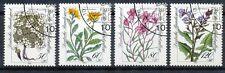 Bundespost 1188 - 1191 gestempeld motief bloemen