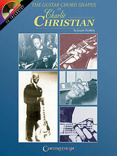 CHARLIE CHRISTIAN - GUITAR CHORD SHAPES BOOK + CD NEW